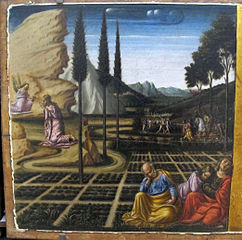 Joseph of Arimathea and Nicodemus on the Way to the Calvary