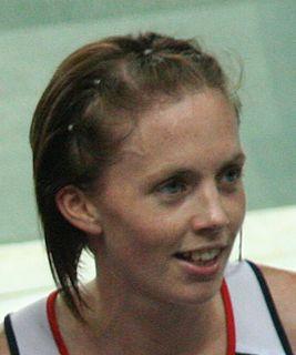 Nicola Sanders British track and field athlete