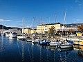 Nidelva, Fosenkaia og Trondheim sentralstasjon.jpg