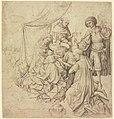 Niederländisch, 15. Jahrhundert - Anbetung der Heiligen drei Könige, 738.jpg