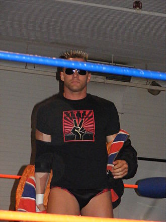 Nigel McGuinness - McGuinness at a 2CW show in April 2009