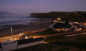 English: Nightlife, Old Saltburn