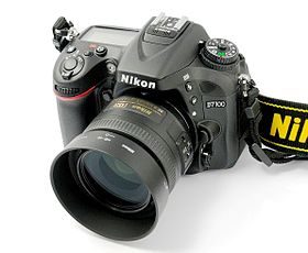 Image illustrative de l'article Nikon D7100