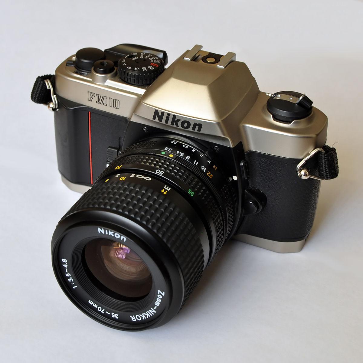 nikon fm10 wikipedia rh en wikipedia org Nikon FG Instruction Manual Nikon Film Cameras