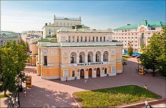 Bolshaya Pokrovskaya Street - Dramatic Theatre