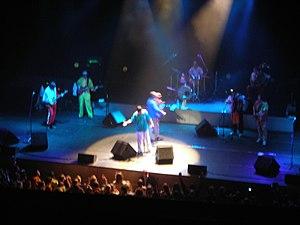 Zabranjeno Pušenje - The No Smoking Orchestra playing at BKZ Oktyabrskiy in St. Petersburg, Russia on 6 October 2007.