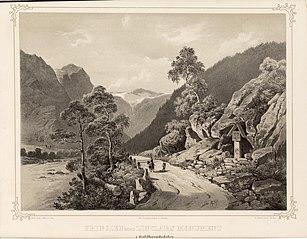 Kringlen med Zinclars monument i Guldbrandsdalen