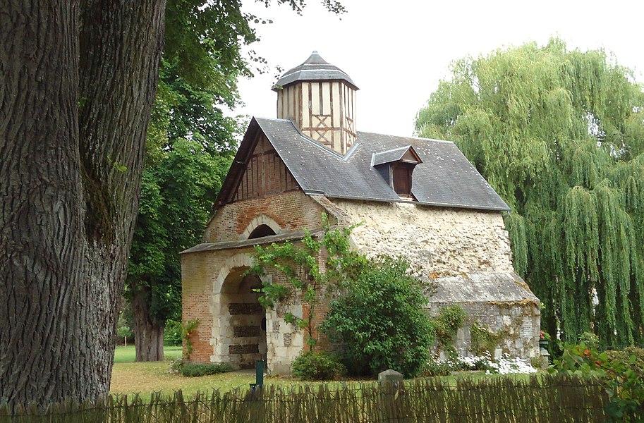Poterne du château (ancien) - Normanville - Eure (27)