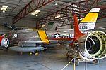 North American F-86F Sabre '12834 - FU-834' 'Jolley Roger' (NX186AM) (26776255266).jpg