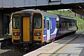 Northern Rail Class 153, 153352, platform 5, Lancaster railway station (geograph 4499685).jpg
