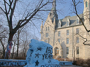 The Rock (Northwestern University) - The rock in 2009