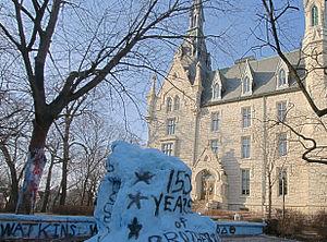 The Rock (Northwestern University) - The rock in 2009