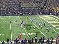 Northwestern vs. Michigan football 2012 11 (Michigan on offense).jpg