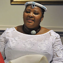 Nosiviwe Mapisa-Nqakula at the Pentagon Sept. 12, 2012.jpg