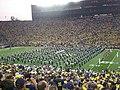 Notre Dame vs. Michigan football 2013 02 (ND band).jpg