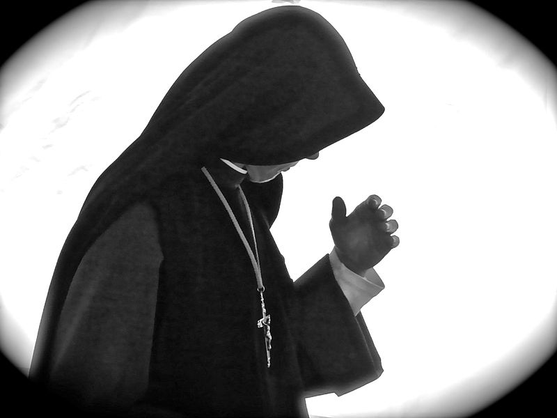 File:Nun Deep in Prayer.jpg Description English: Nun Deep in Prayer. Date13 May 2011, 23:58:41 SourceFlickr: Nun Deep in Prayer AuthorRobert Frank Gabriel Permission (Reusing this file) Checked copyright icon.svgThis image, which was originally posted to Flickr, was uploaded to Commons using Flickr upload bot on 13 May 2014, 08:51 by Jonund. On that date, it was confirmed to be licensed under the terms of the license indicated.