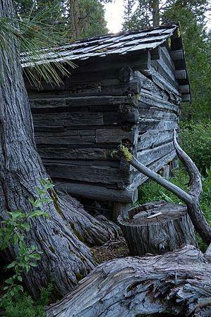 Berryessa Snow Mountain National Monument - Image: Nye cabin Smow Mtn