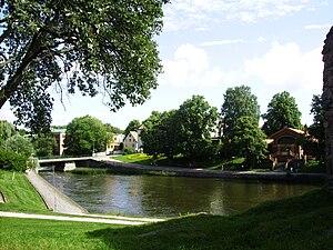 Nyköpingsån - Image: Nyköpingsån