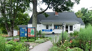 Massachusetts Audubon Society - Oak Knoll visitor center in Attleboro, Massachusetts