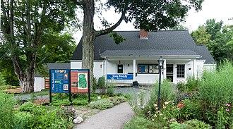 Massachusetts Audubon Society - Oak Knoll visitor center in Attleboro, Massachusetts