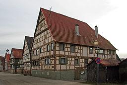 Dorfstraße in Sachsenheim