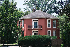 Lutherville, Maryland - Octagon House, built in 1855