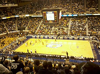 Old Dominion Monarchs basketball - ODU vs VCU in 2011 CAA Finals