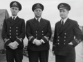 Officers of destroyer HMS Broadway, Nov. 1943.PNG