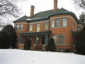 National Register of Historic Places listings in Ogle County, Illinois - Image: Ogle County Polo Il H D Barber House 1