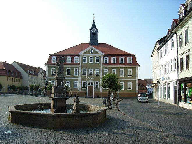Город Ордруф Германия военная часть фото