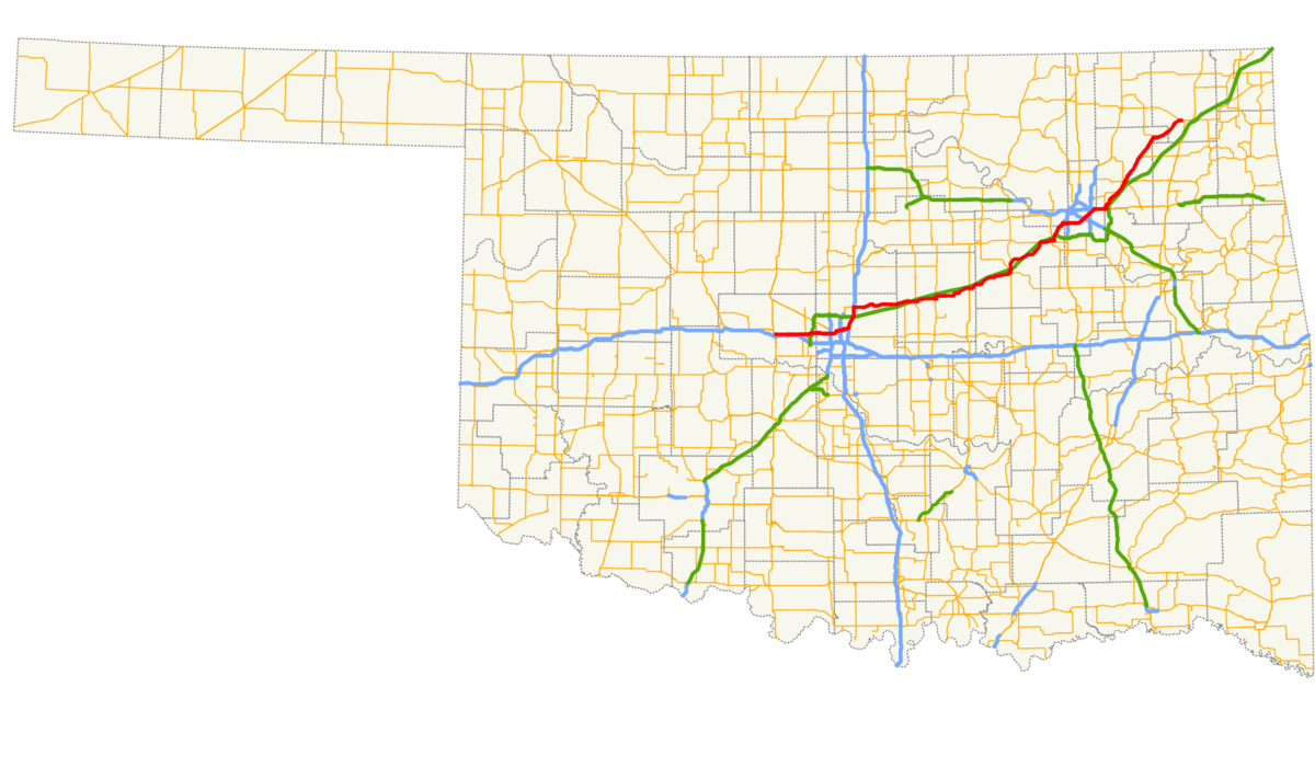 Oklahoma state highway 66 wikipedia sciox Choice Image