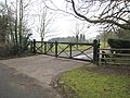 Old Level Crossing gates - geograph.org.uk - 635120.jpg