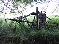 Old disc harrow, Slatehole Farm, Ochiltree, East Ayrshire.jpg