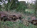 Old field rollers - geograph.org.uk - 1112924.jpg