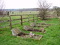 Old graves in St Andrew's churchyard - geograph.org.uk - 1701475.jpg
