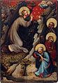 Oltář třeboňský, Kristus na hoře Olivetské, Národní galerie v Praze.jpg