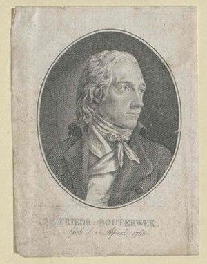 Friedrich Bouterwek - Friedrich Bouterwek.