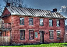 Once the Pike County (Ohio) Court House The structure was completed in 1819.jpg