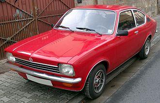 Opel Kadett C - Image: Opel Kadett C Coupe front 20080206