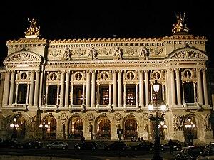 English: The Palais Garnier, also known as the...