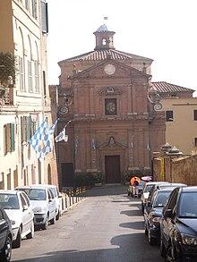 La Chiesa di San Giuseppe, Oratorio della Contrada dal 1787.