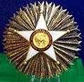 Order of the Lion grand cross star (Senegal) - Tallinn Museum of Orders.jpg