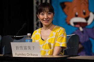 Fumiko Orikasa Japanese actress