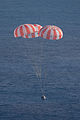 Orion EFT-1 just prior to splashdown.jpg
