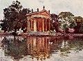 Ornamental pool in Villa Borghese by Alberto Pisa (1905).jpg