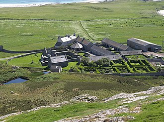 Oronsay, Inner Hebrides - Oronsay Priory and Farm