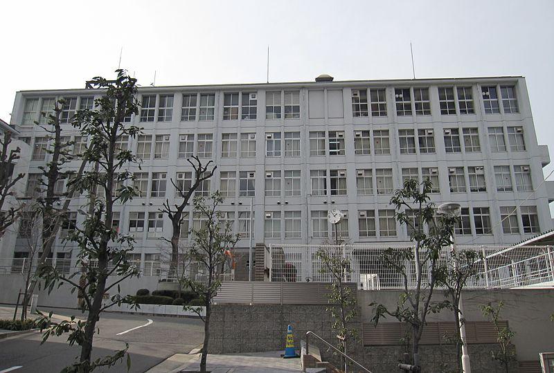 File:Osaka Prefectural Shimizudani High School.JPG