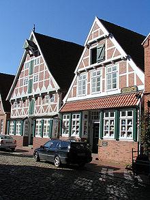 Das ehemalige Wohnhaus in Otterndorf, heute Museum (Quelle: Wikimedia)