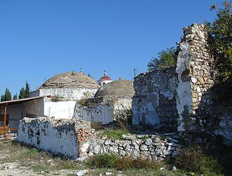 Traianoupoli - The ruins of four baths of the Roman and Ottoman period