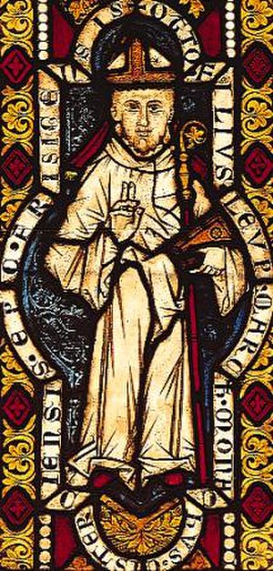 Otto of Freising - Otto of Freising, as depicted on a medieval stained glass window in the Cistercian Abbey of Heiligenkreuz, Austria